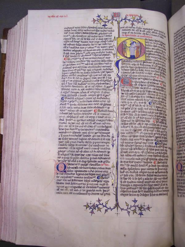 Ms197, f167v, Decretalium quaestiones, 14thC