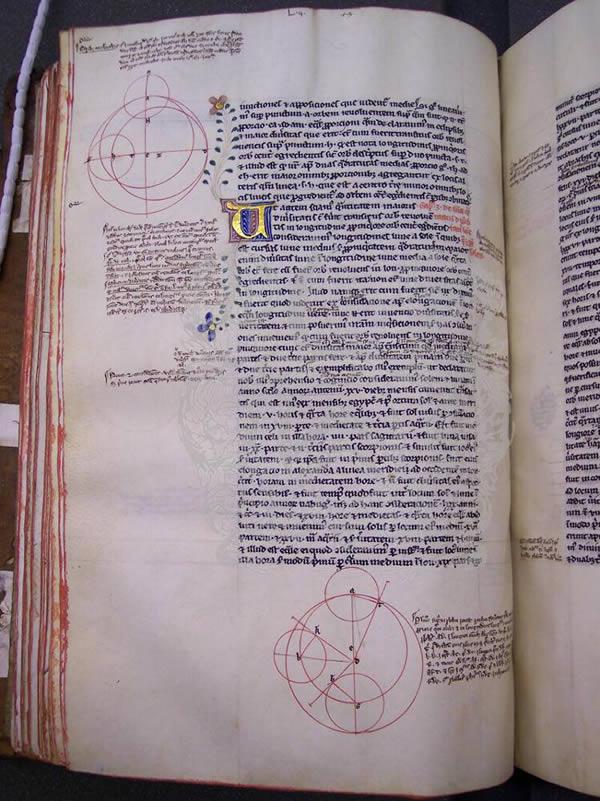 Ms281, f82v, Ptolemy's Almageste, 15thC