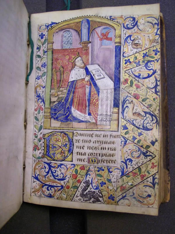 Ms369, f60r, Book of hours, c.1500