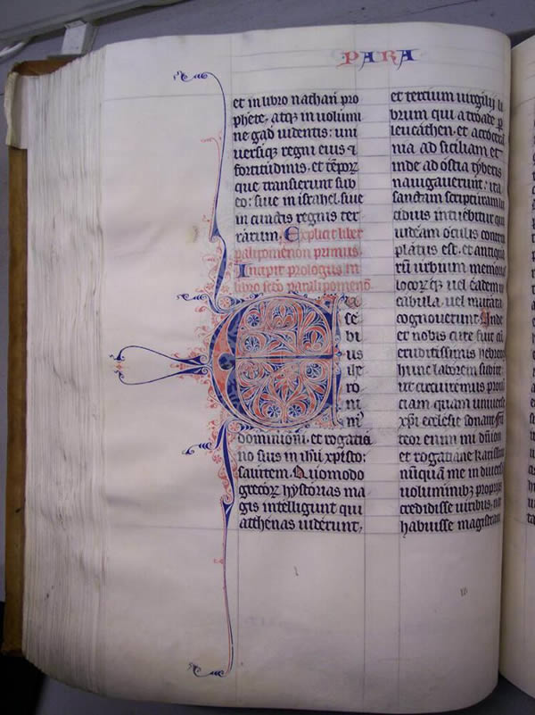 Ms4, f227v, Bible, 13thC