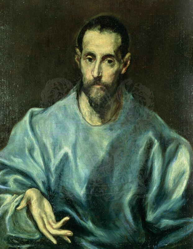 St James of Compestella by El Greco - currently on long term loan with the Ashmolean Museum