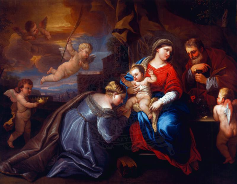Marriage of St Catherine by Luca Giordano (1634-1705)