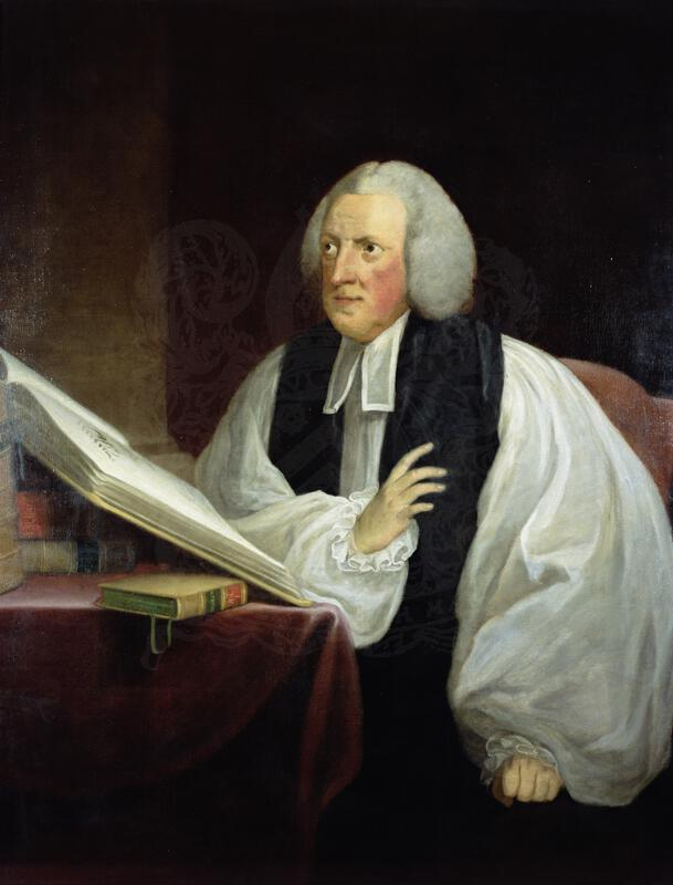 Robert Lowth (1710-1787), Bishop of Oxford (1766-1777) and London (1777-1787), a professor of poetry at Oxford University
