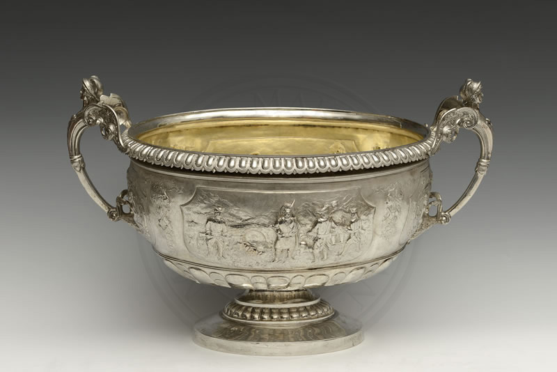 Punch bowl, c. 1891-92