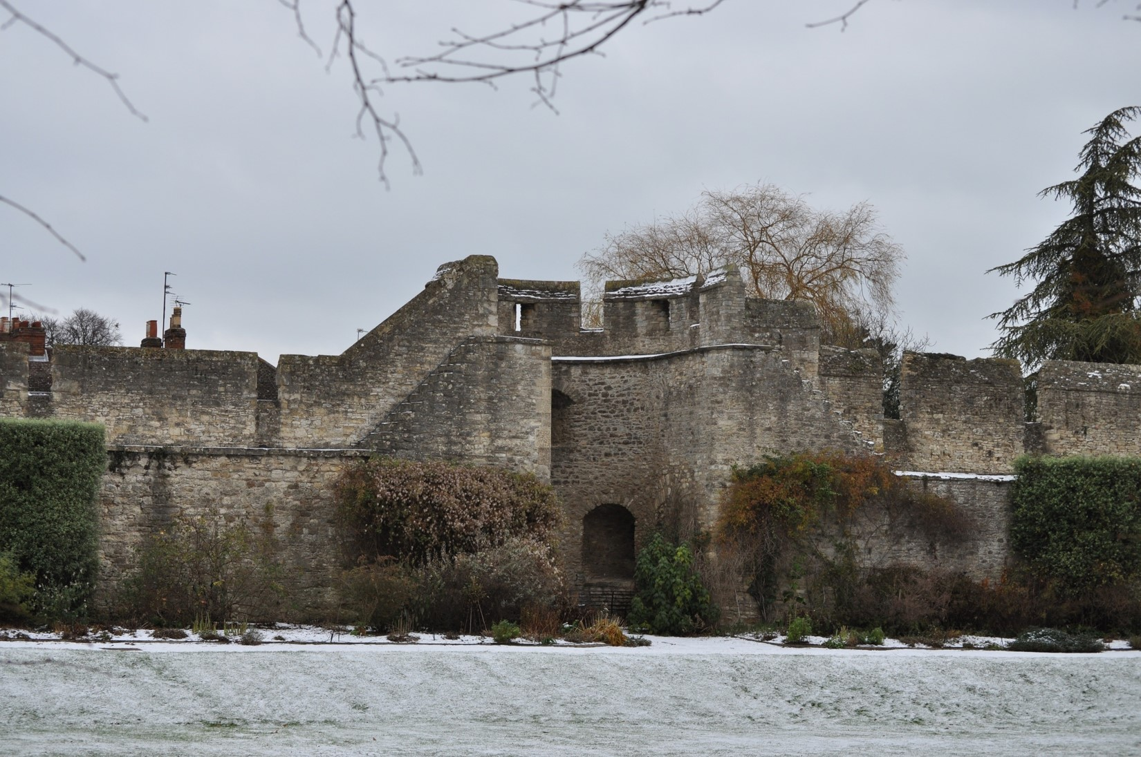 City Wall in the snow
