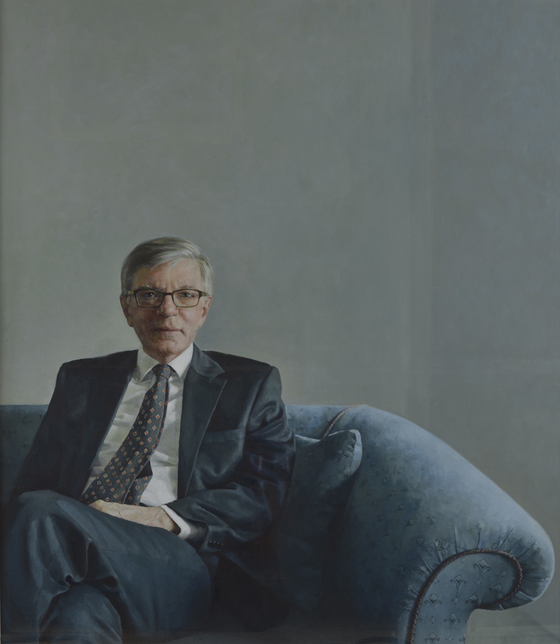 Sir Curtis Price. Warden of New College (2009-2016), by Jennifer Anderson