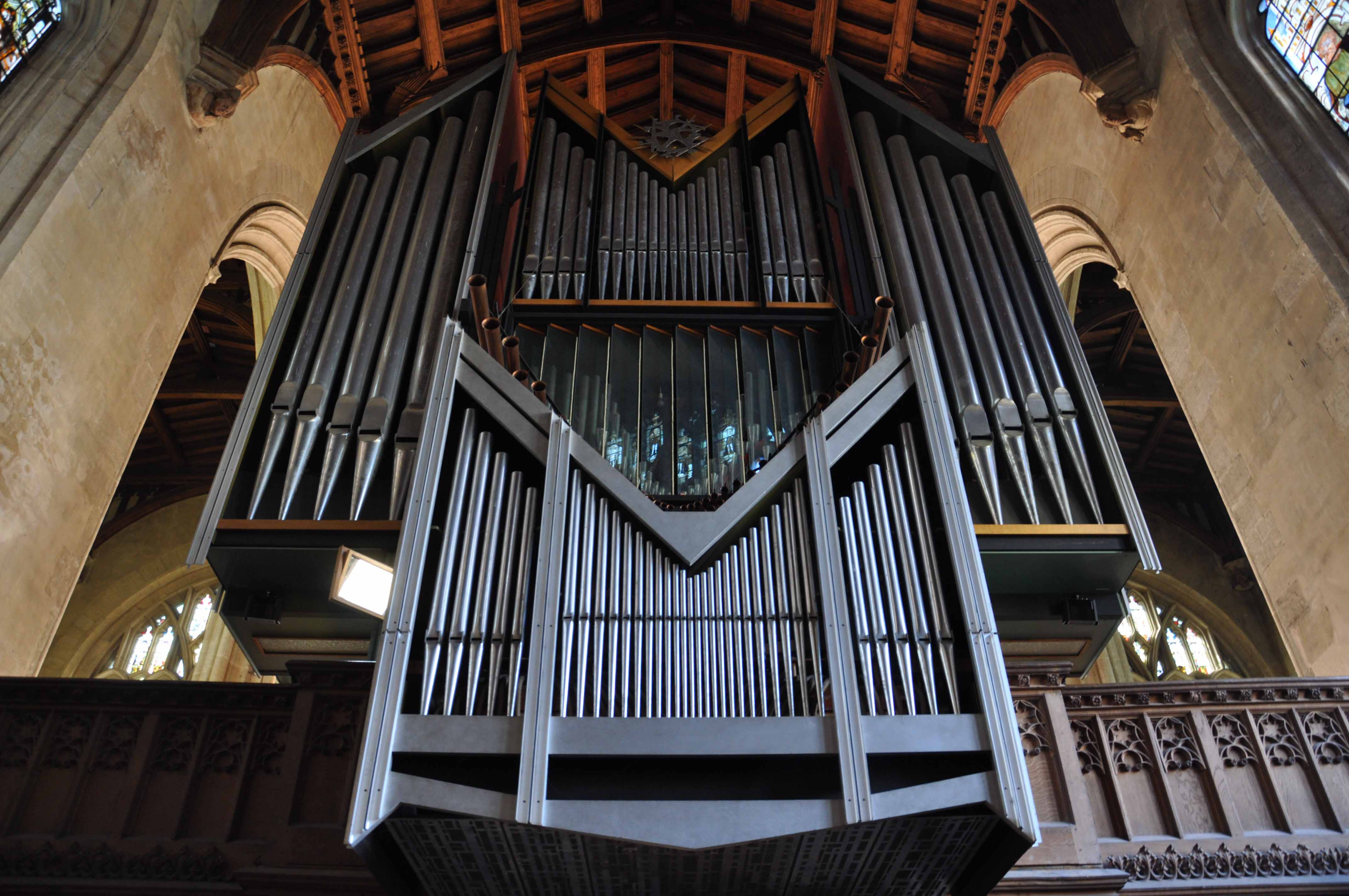 The Organ in Chapel