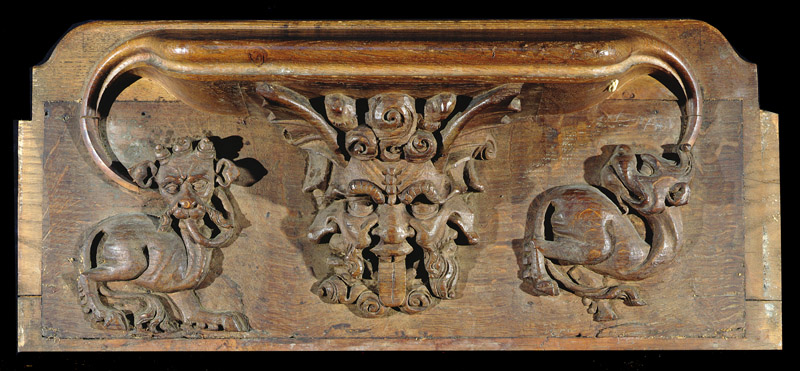 One of the Misericords In Chapel
