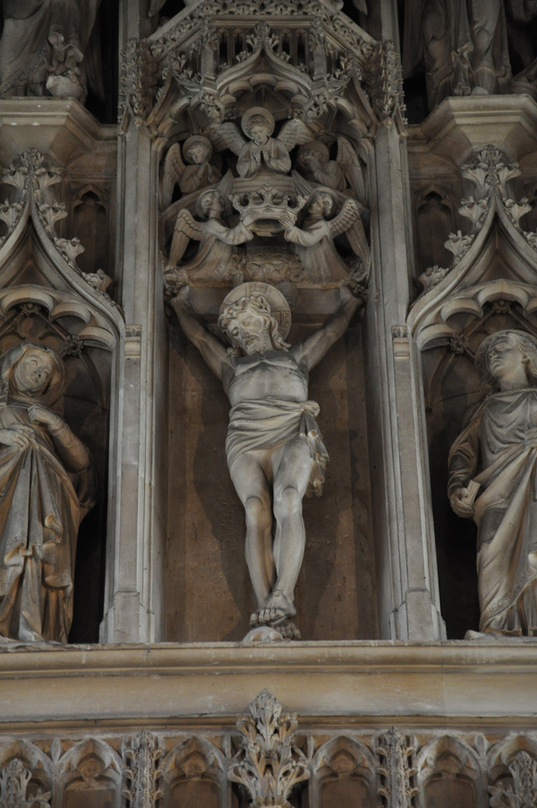 Reredos Carving
