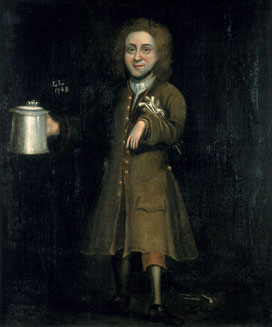 Portrait of Thomas Hodges, 1768 (oil on canvas)