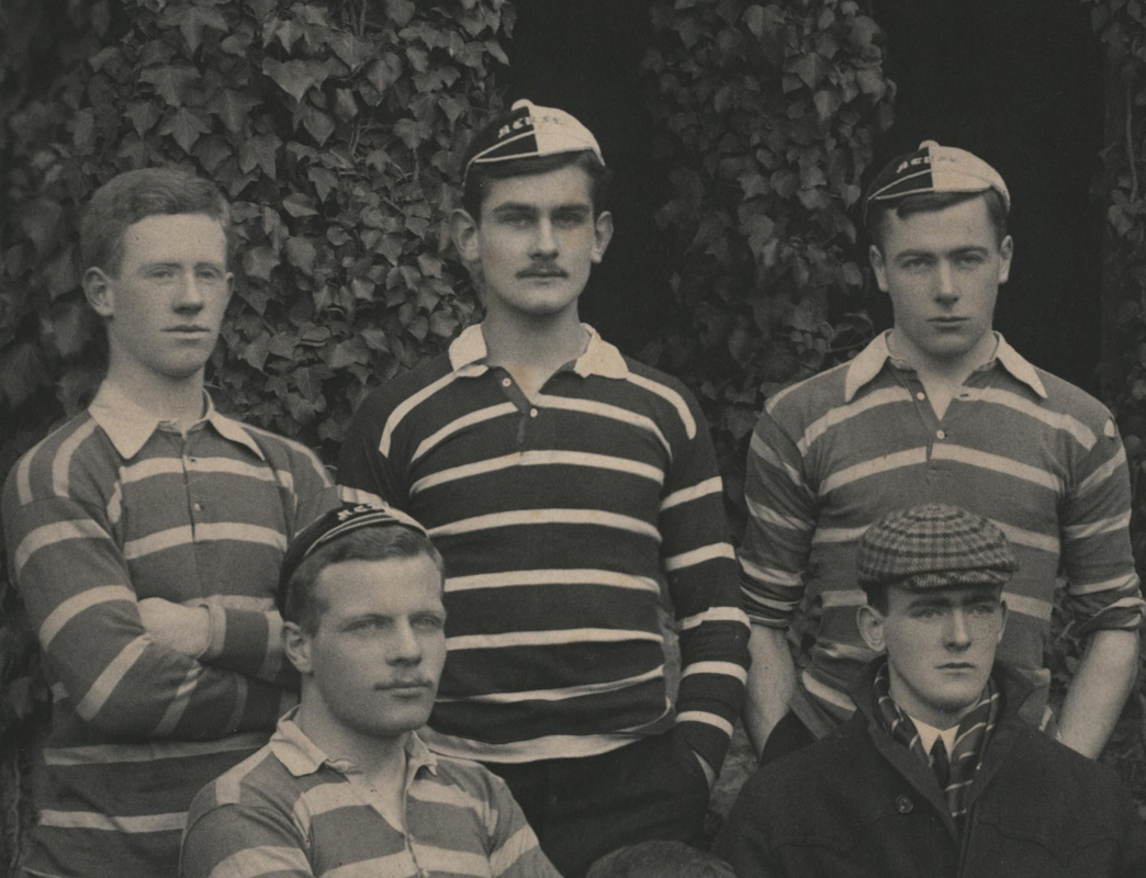 NCA JCR/L2/10, New College Rugby Club, 1902