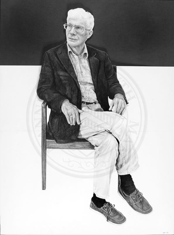 Professor David Clarke, Emeritus Fellow of New College, by Nina Fowler