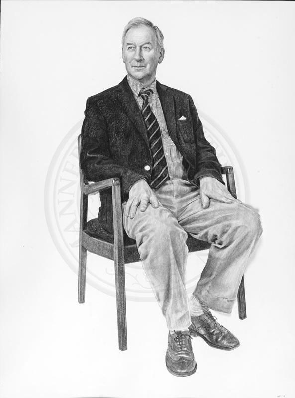 Professor Edward Higginbottom, Tutor in Music, Organist; Professor of Choral Music, by Nina Fowler