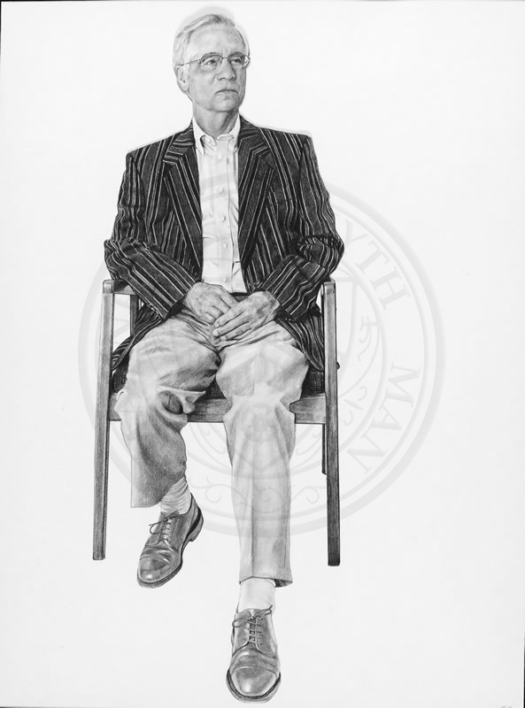 Professor Trevor Powell, Emeritus Fellow of New College, by Nina Fowler