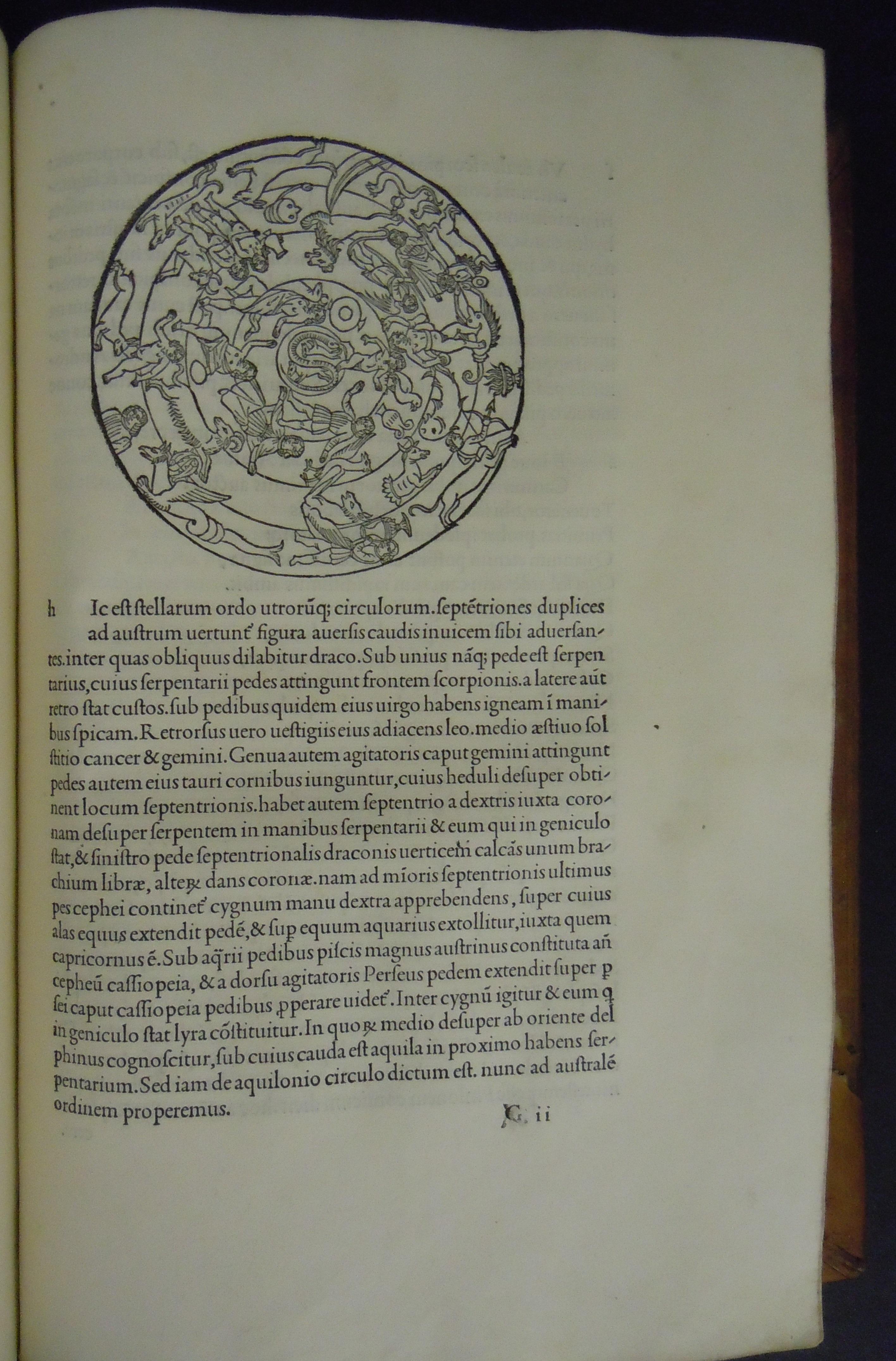 BT1.1.1, G2, Scriptores astronomici veteres, 1499 (Aldus Manutius)