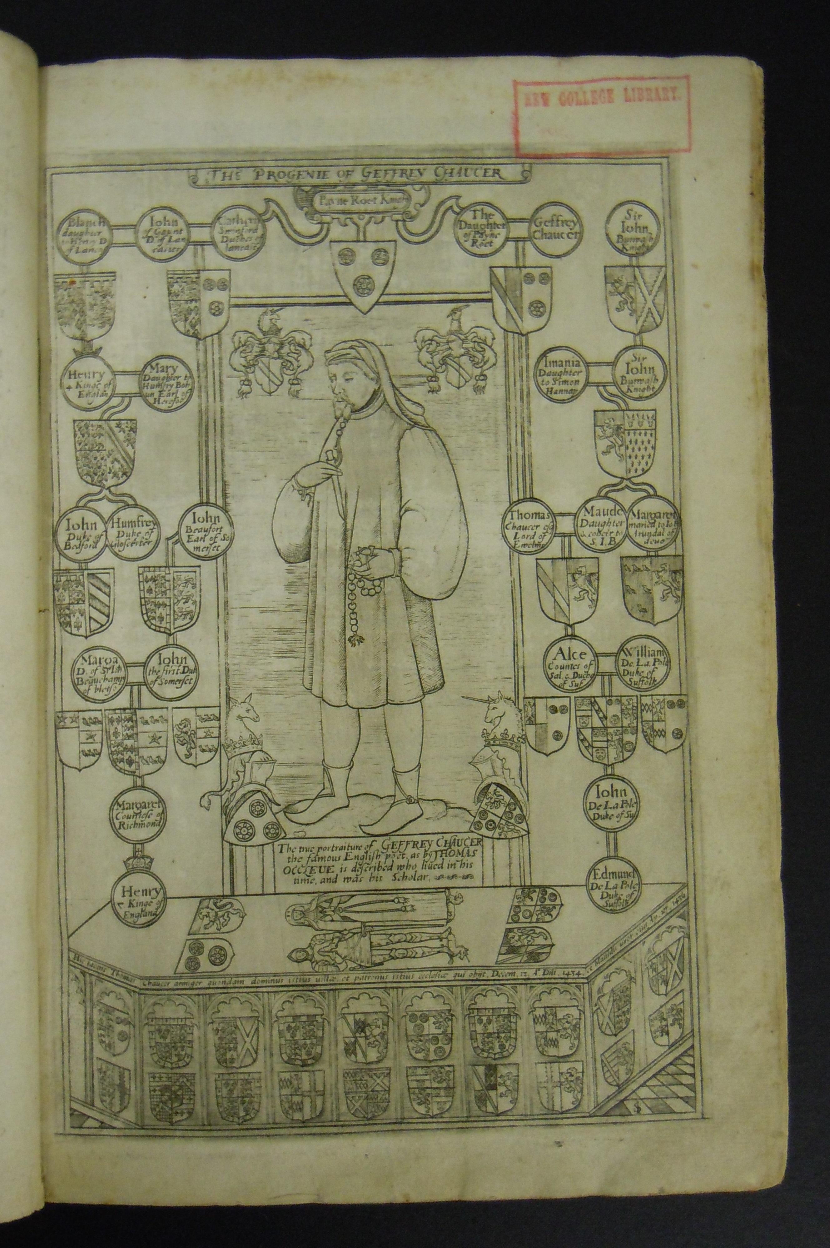 BT1.19.2, precedes bj, Geoffrey Chaucer's Works, 1602