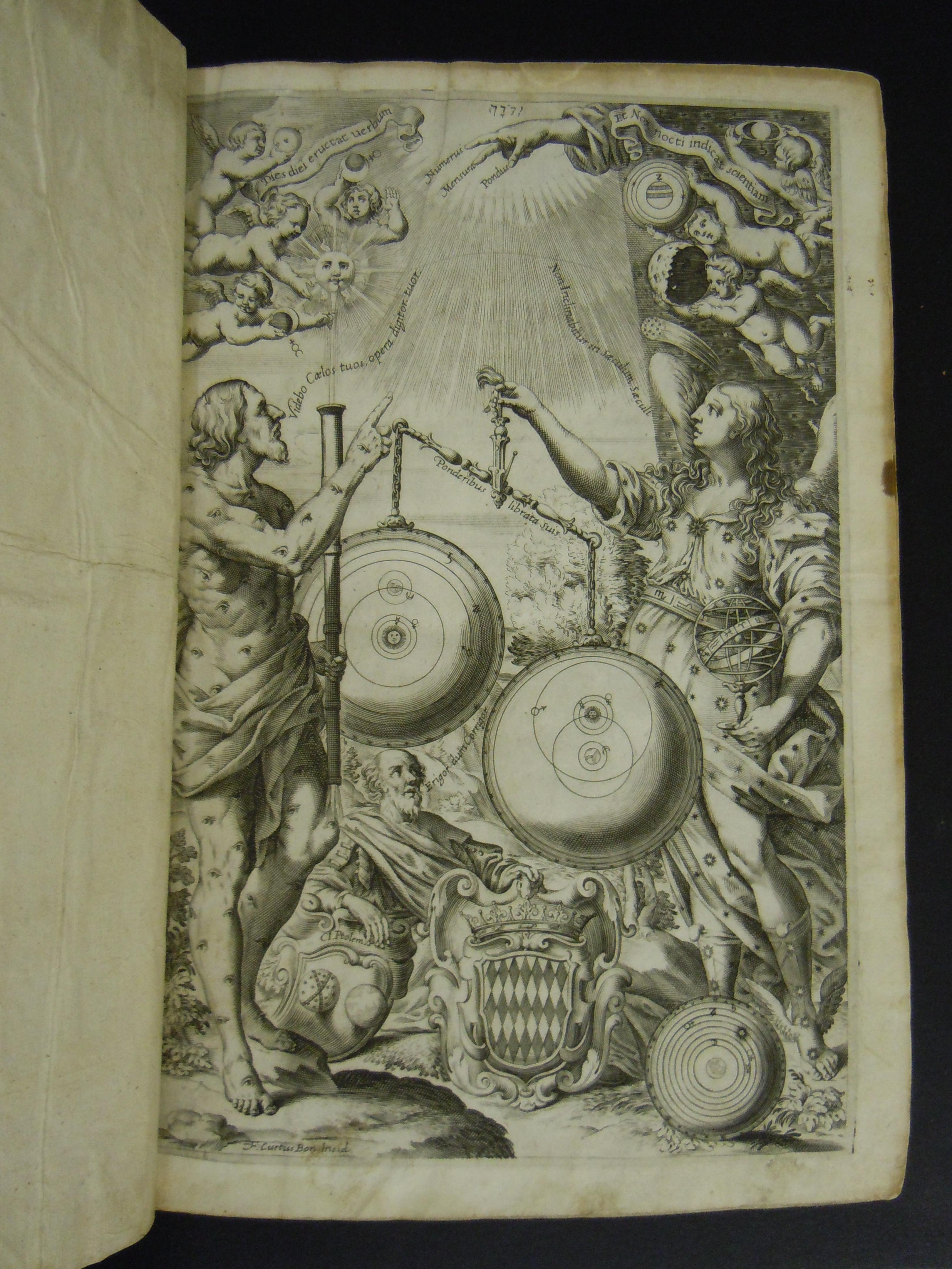 BT3.154.9, 2nd flyleaf, Giovanni Battista Riccioli's Almagestum nouum, 1653,