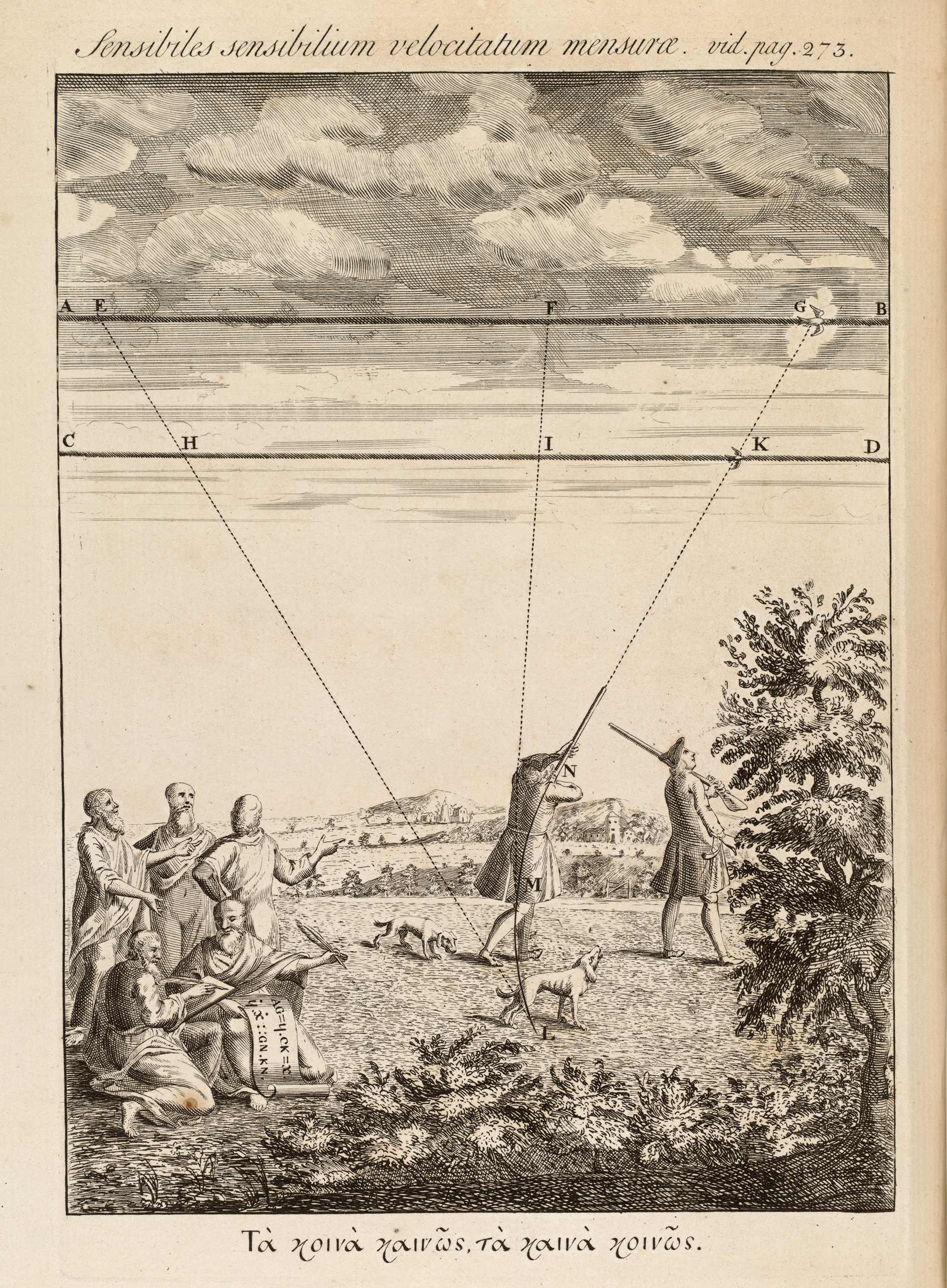 BT3.182.6, frontispiece, Isaac Newton's The method of fluxions and infinite series, 1736