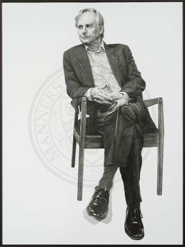 Professor Richard Dawkins, Emeritus Fellow of New College, by Nina Fowler