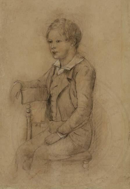 Henry John Gepp, 1849, Fellow of New College (1857-1875), by Caroline St John Mildmay