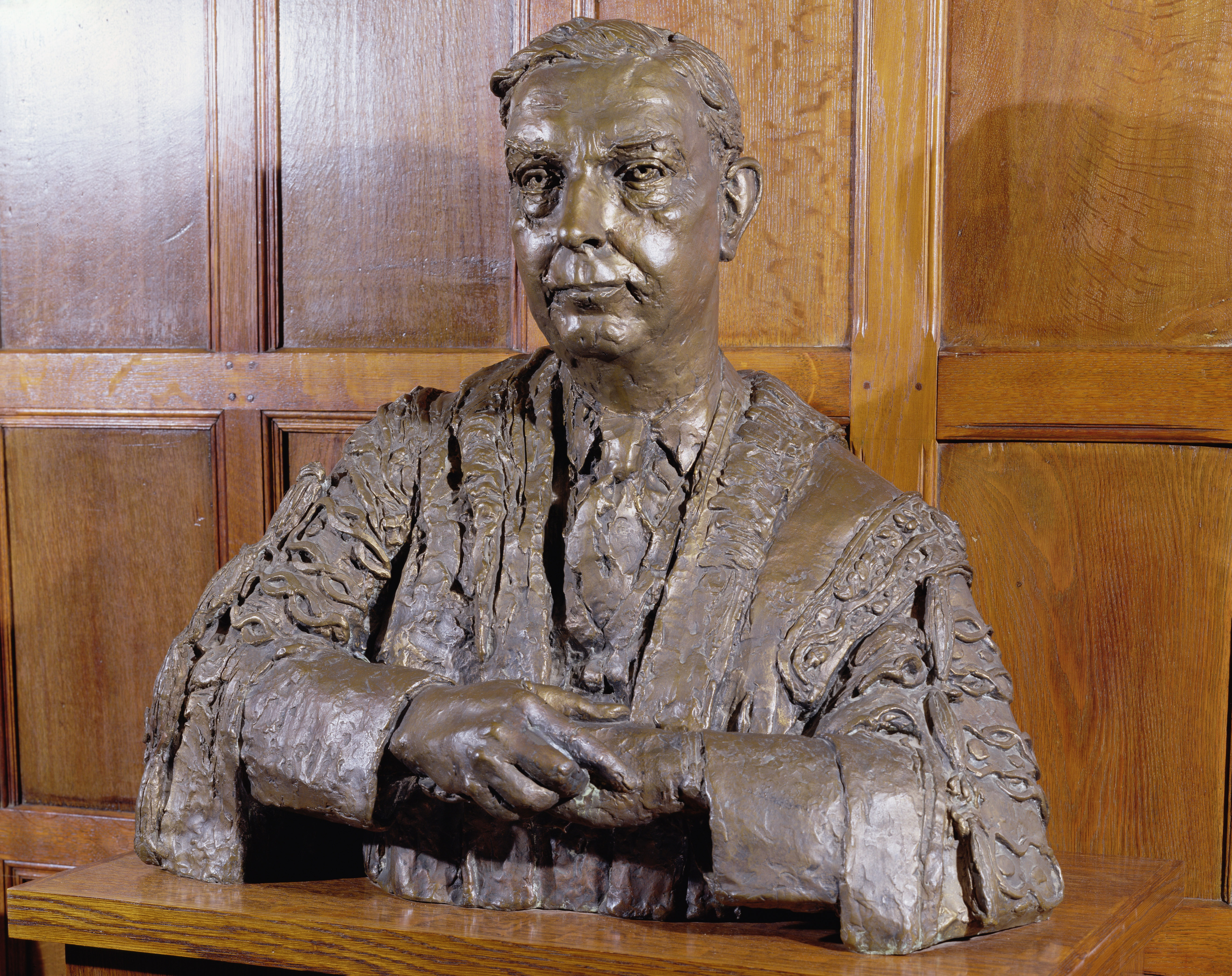 Bronze bust of Lord Brain by Sir Jacob Epstein. Commissioned by the Royal College of Physicians and completed in 1958 to celebrate his Presidency from 1950-1957.