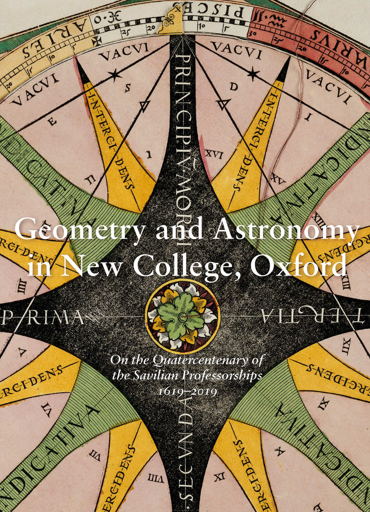 Geometry and Astronomy in New College, Oxford (front cover)