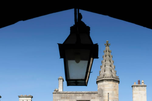 Lamp and Spires