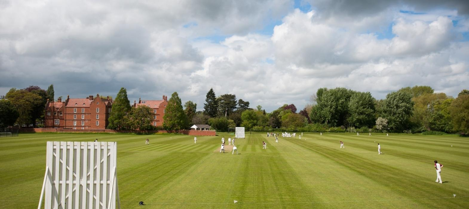 Cricket at New College's Weston Sports Ground
