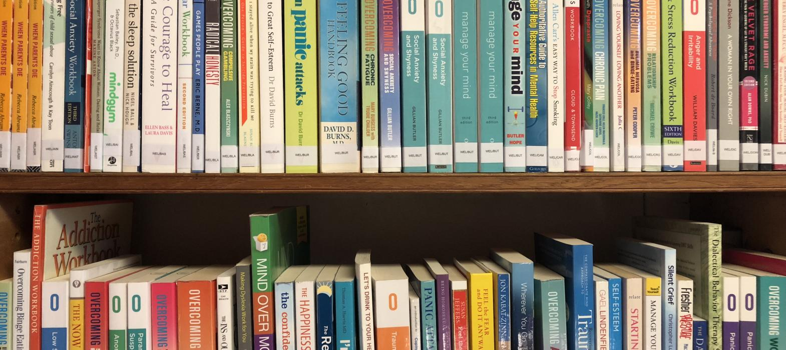 Student Welfare Books, Student Welfare and Study Skills Collection, New College Library, Oxford