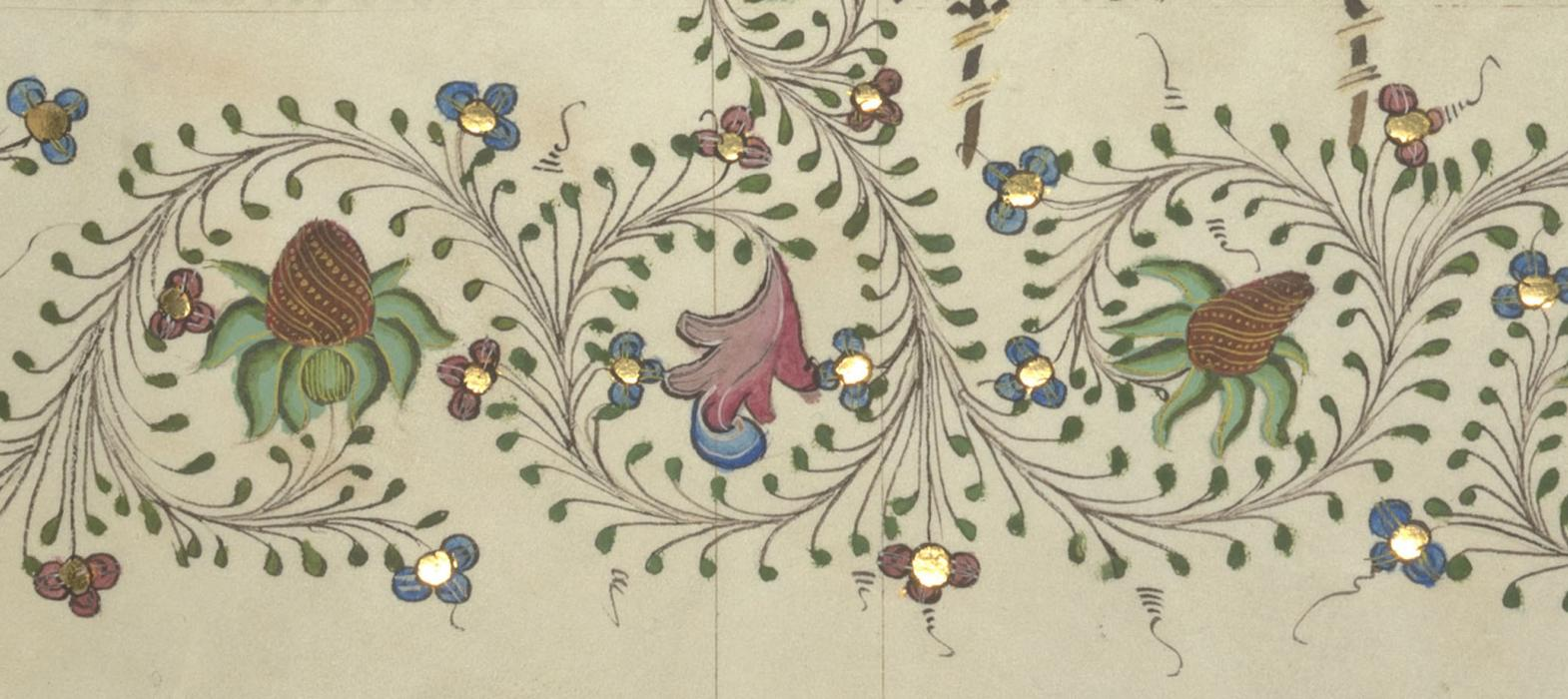 MS 11, f. 220r [detail], New College Library, Oxford