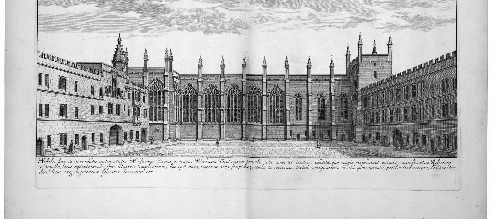 New College Library, Oxford, BT1.5.3, plate 20 opening (greyscale)