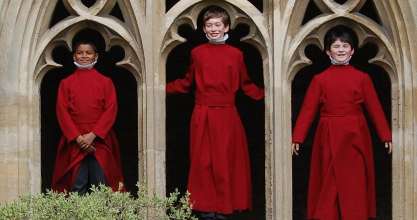 Choir Boys in the Cloisters