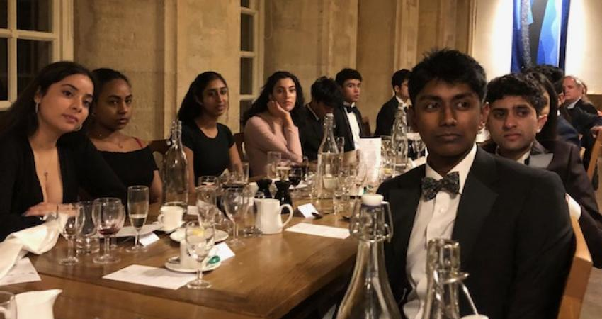 Attendees at the BAME Dinner 2020