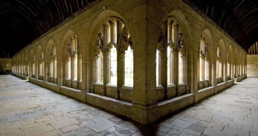Image of New College cloisters