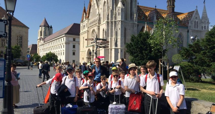 The Choir on Tour in Hungary