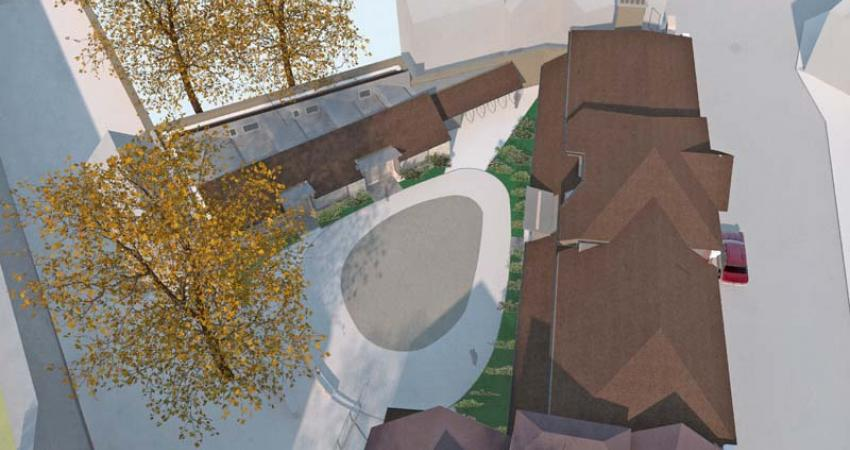 Elevated Artist's impression of Longwall re-development