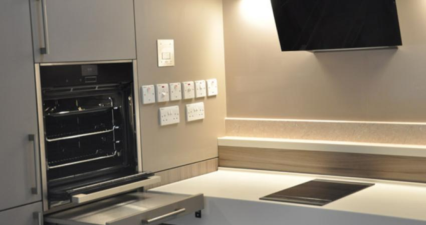Kitchen Photo with accessible switches