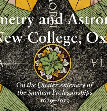 Geometry and Astronomy in New College, Oxford front cover